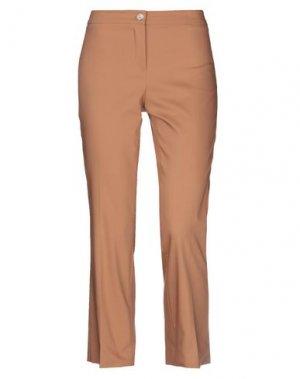 Повседневные брюки COMPAGNIA ITALIANA. Цвет: коричневый