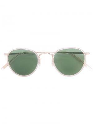 Солнцезащитные очки MP-2 Oliver Peoples. Цвет: золотистый