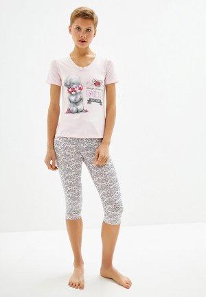 Пижама Astron 140ORN060. Цвет: розовый