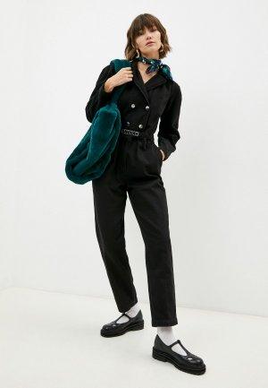 Комбинезон джинсовый Pinko. Цвет: черный