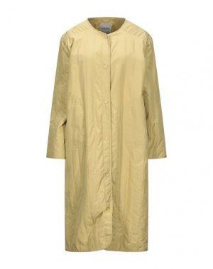 Легкое пальто ELVINE. Цвет: желтый