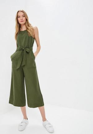 Комбинезон Banana Republic SL UTILITY JUMPSUIT. Цвет: хаки