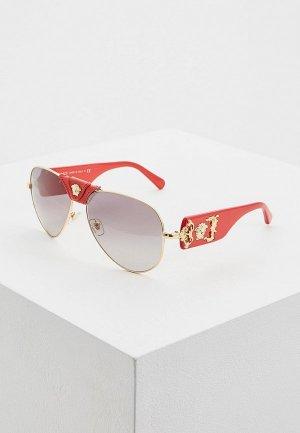 Очки солнцезащитные Versace VE2150Q 100211. Цвет: золотой