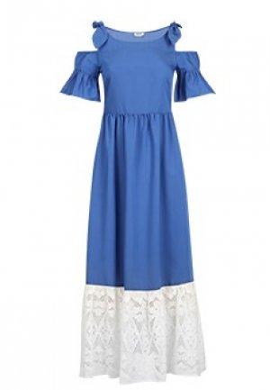 Сарафан LIU JO. Цвет: голубой