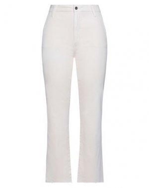 Укороченные джинсы JOE'S JEANS. Цвет: светло-розовый