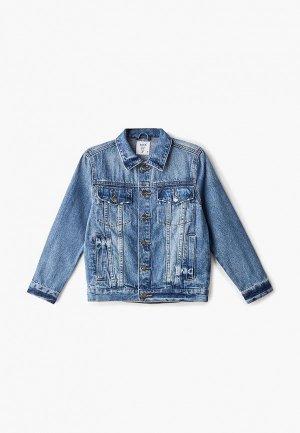 Куртка джинсовая Sela. Цвет: синий