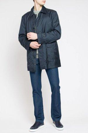 Куртка Brioni. Цвет: темно-синий/темно-серый