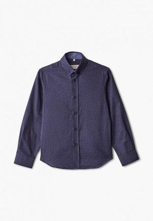 Рубашка Colletto Bianco. Цвет: синий