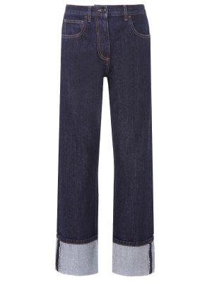 Широкие джинсы прямого кроя VALENTINO