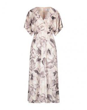Платье миди KAOS. Цвет: бежевый