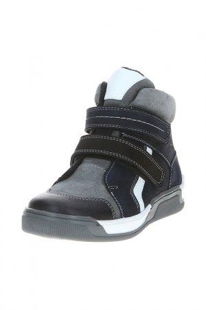 Ботинки San Marko. Цвет: темно-синий, серый
