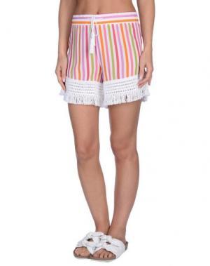 Пляжные брюки и шорты BLUGIRL BLUMARINE. Цвет: белый