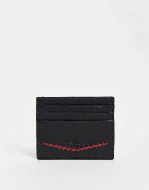 Черная кредитница Fir-Черный цвет Valentino Bags