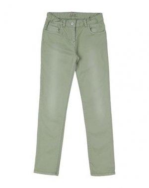 Повседневные брюки AMERICAN OUTFITTERS. Цвет: зеленый