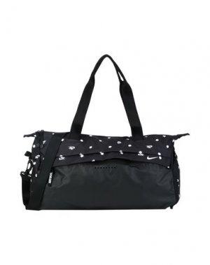 Дорожная сумка NIKE. Цвет: черный