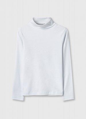 Джемпер для девочек O`Stin. Цвет: белый