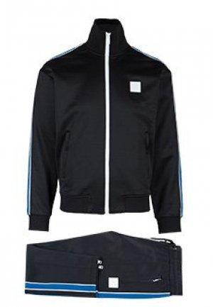 Спортивный костюм DIESEL. Цвет: черный