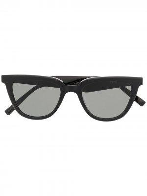 Солнцезащитные очки Tate в оправе кошачий глаз Gentle Monster. Цвет: черный