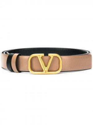Ремень с логотипом VLogo Valentino Garavani. Цвет: нейтральные цвета