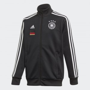 Олимпийка Германия 3-Stripes Performance adidas. Цвет: черный