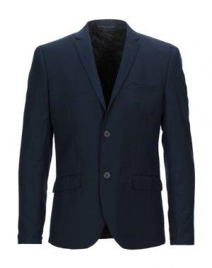 Пиджак SUIT. Цвет: темно-синий