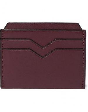 Чехол для документов VALEXTRA. Цвет: красно-коричневый