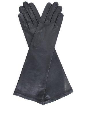 Кожаные удлиненные перчатки SERMONETA GLOVES