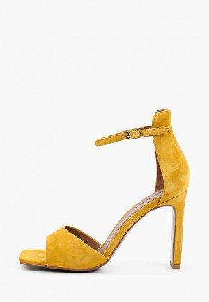 Босоножки Corso Como. Цвет: желтый