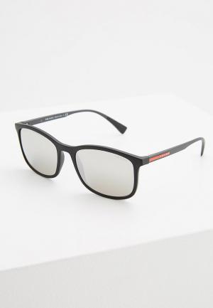 Очки солнцезащитные Prada Linea Rossa PS 01TS DG02B0. Цвет: черный