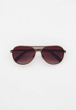 Очки солнцезащитные Thom Richard. Цвет: коричневый