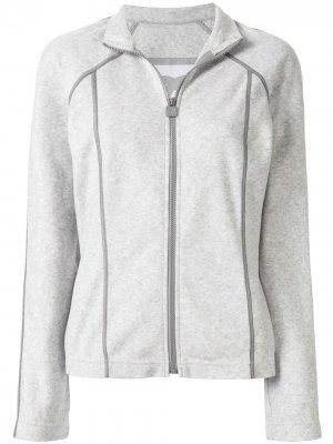 Спортивная куртка Sports Line Chanel Pre-Owned. Цвет: серый