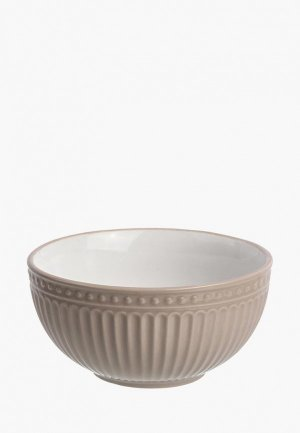 Салатник Elan Gallery. Цвет: коричневый