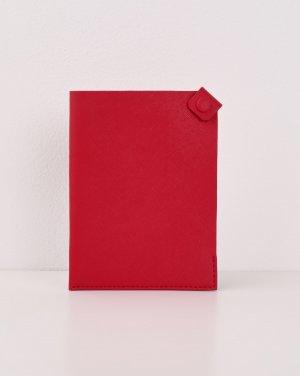 Обложка для паспорта 12STOREEZ. Цвет: красный