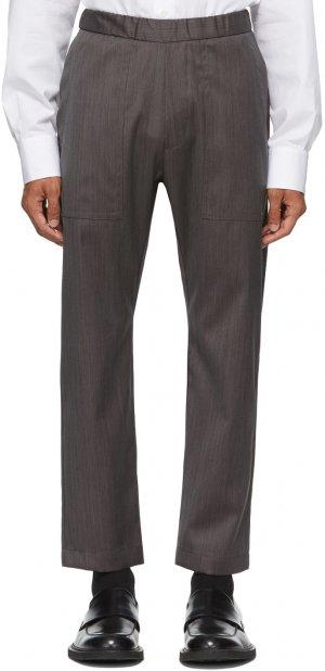 Grey Trabaco Trousers Barena. Цвет: grigio