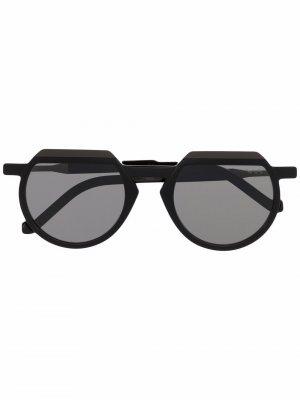 Солнцезащитные очки WL0049 VAVA Eyewear. Цвет: черный