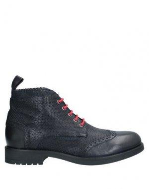 Полусапоги и высокие ботинки JP/DAVID. Цвет: темно-синий