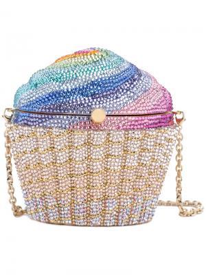 Сумка Rainbow Cupcake Judith Leiber Couture. Цвет: многоцветный