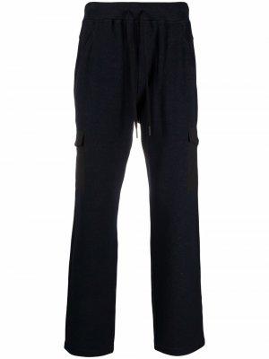 Спортивные брюки прямого кроя Gran Sasso. Цвет: синий