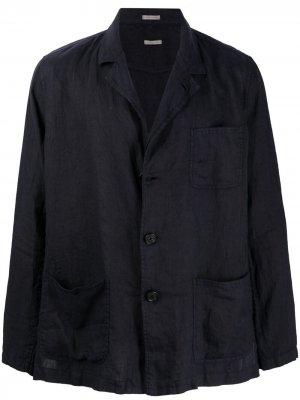 Легкий пиджак Massimo Alba. Цвет: синий