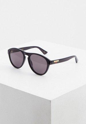 Очки солнцезащитные Gucci GG0747S 001. Цвет: черный