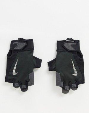 Черные мужские перчатки Training-Черный цвет Nike