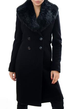 Пальто RADEKS. Цвет: black