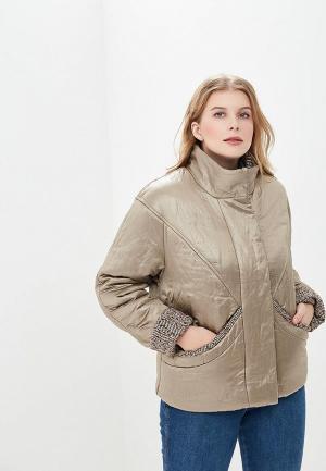 Куртка утепленная Sonett. Цвет: золотой