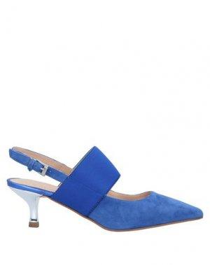 Туфли CARMENS. Цвет: синий