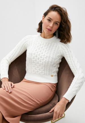 Джемпер Elisabetta Franchi. Цвет: белый