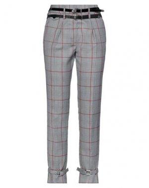 Повседневные брюки EUREKA by BABYLON. Цвет: серый