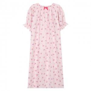 Хлопковая сорочка Amiki Children. Цвет: разноцветный