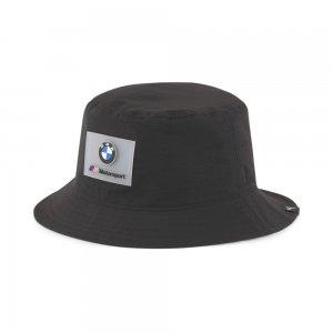 Панама BMW M Motorsport Bucket Hat PUMA. Цвет: черный