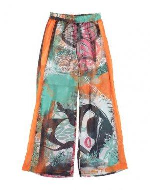 Повседневные брюки CUSTO BARCELONA. Цвет: оранжевый