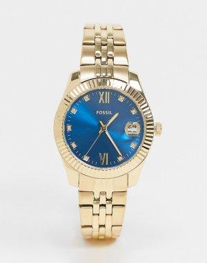 Золотистые женские часы-браслет ES4947-Золотистый Fossil